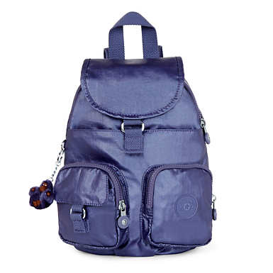 Lovebug Small Metallic Backpack - Enchanted Purple Metallic