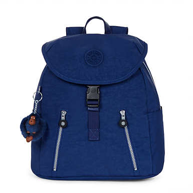 Zakaria Medium Backpack - Ink Blue