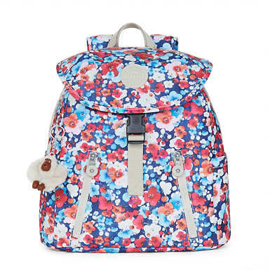Zakaria Medium Printed Backpack - Holly Dream