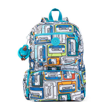 Dawson Large Printed Laptop Backpack - Bird Watching