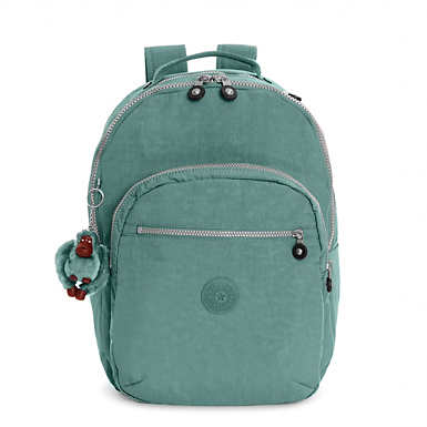 Seoul Large Laptop Backpack - Sea Green