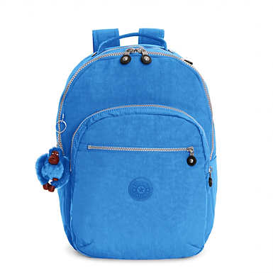 Seoul Large Laptop Backpack - Saxony Blue