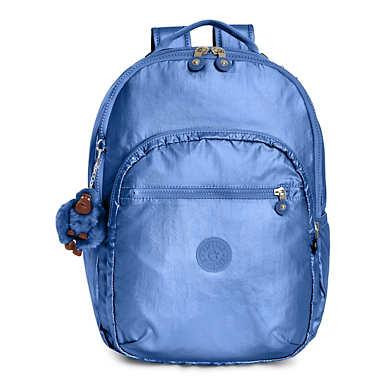 Seoul Large Metallic Laptop Backpack - undefined
