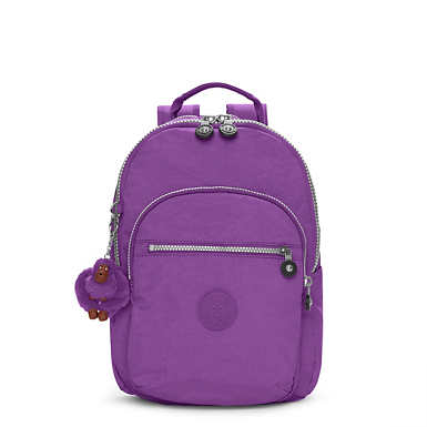 Seoul Small Backpack - Purple Feather
