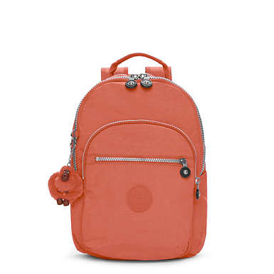 Seoul Small Backpack - Blood Orange