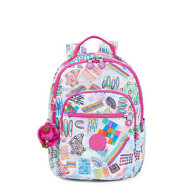 Seoul Small Printed Backpack - Rio Vine