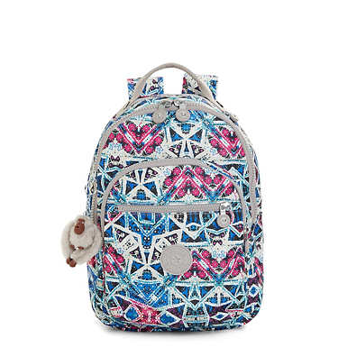 Seoul Small Printed Backpack - Brightside Sky