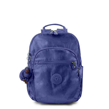 Seoul Small Metallic Backpack - Enchanted Purple Metallic