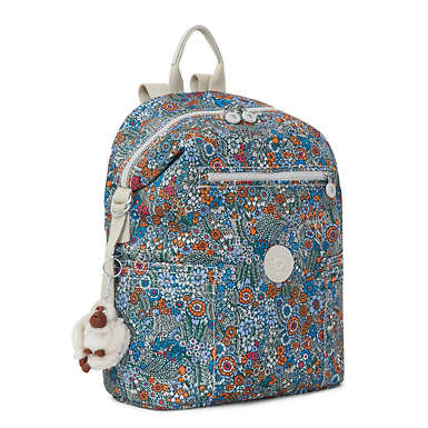 Cherry Printed Backpack - Loopy Flowers