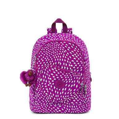 Heart Printed Backpack - Star Swirl
