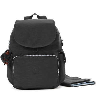 키플링 잭스 다이퍼 백팩 - 블랙 Kipling Zax Backpack Diaper Bag,Black