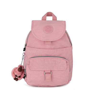 키플링 Kipling QueenieSmall Backpack,Strawberry Pink Classic
