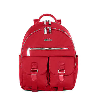 Amory Backpack - Candied Red