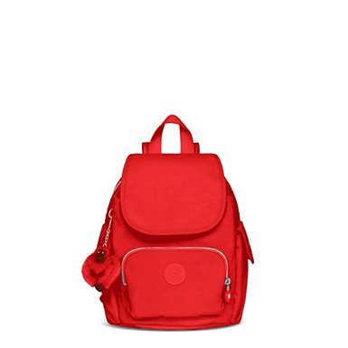 키플링 Kipling City Pack Extra Small Backpack,Cherry