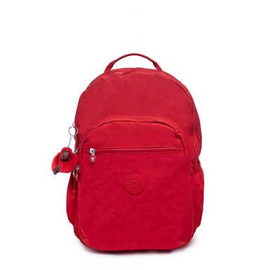 """키플링 Kipling Seoul Go Large 15"""" Laptop Backpack,Cherry T"""