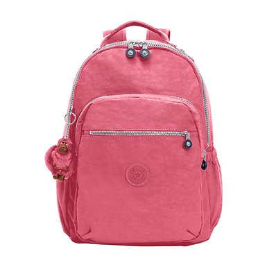 """키플링 Kipling Seoul Go Large 15"""" Laptop Backpack,Desert Rose"""