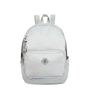키플링 Kipling TabbieSmall Backpack,Silver