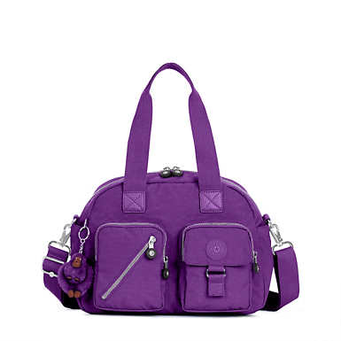 Defea Handbag - Tile Purple