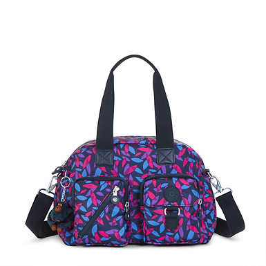 Defea Printed Handbag - undefined