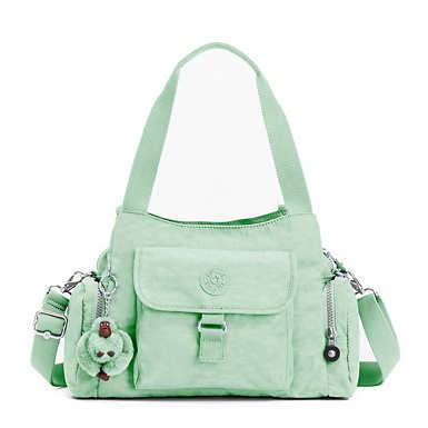 키플링 Kipling Felix Large Handbag,Greenery