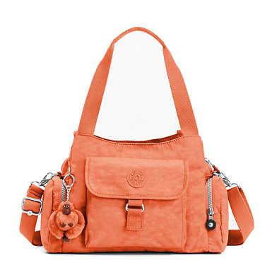 키플링 Kipling Felix Large Handbag,Peachy Pink