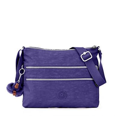 키플링 Kipling Alvar Crossbody Bag,Berry Blue