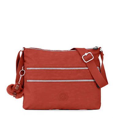 Alvar Crossbody Bag - Red Rust