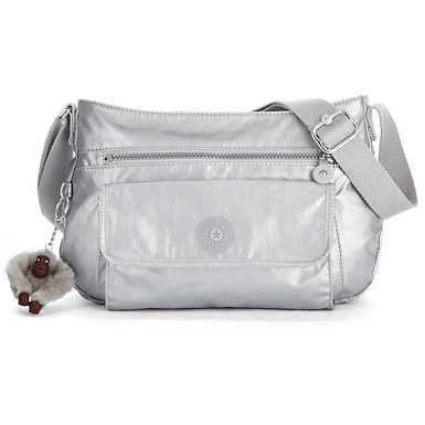 Syro Crossbody Bag - Silver Metallic