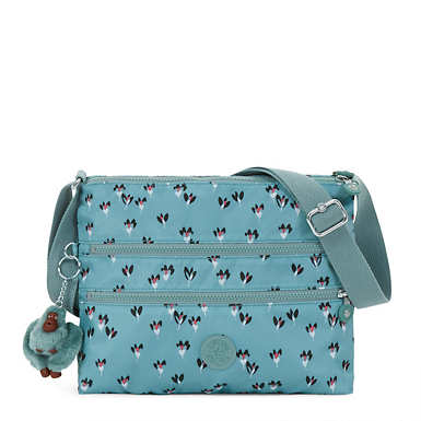 Alvar Printed Crossbody Bag - Fan Florals