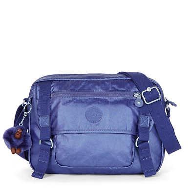 Gracy Crossbody Bag - Enchanted Purple Metallic