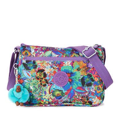 Callie Printed Handbag - Aloha Grove Purple