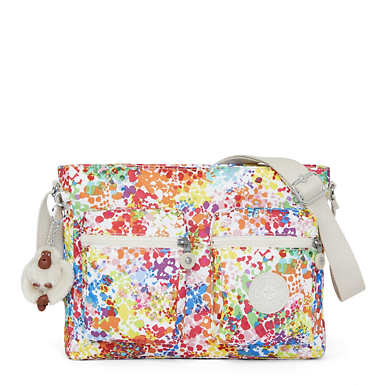 Coralie Printed Crossbody Bag - Color Burst Bright