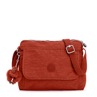 Aisling Crossbody Bag - Red Rust