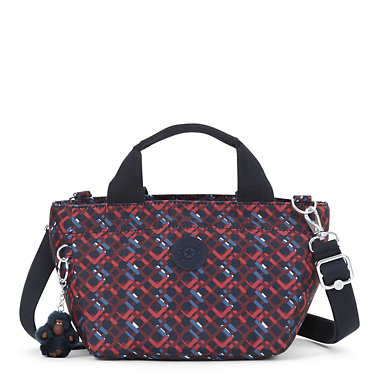 Sugar S II Printed Mini Bag - Groovy Lines