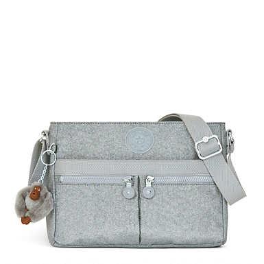 Angie Metallic Crossbody Bag - undefined