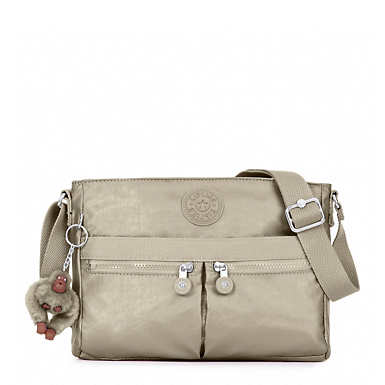Angie Metallic Crossbody Bag - undefined