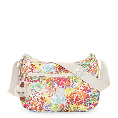Sally Printed Handbag - Color Burst Bright