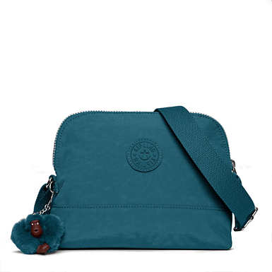 키플링 Kipling BessCrossbody Bag,Gleaming Green