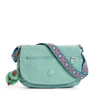 Edmund Crossbody Bag - Leaf Green