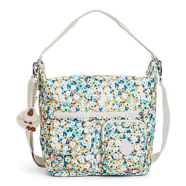 Archie Printed Handbag - Meadow Flower Green