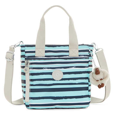 Alexios Printed Crossbody Bag - Spectacle Stripe