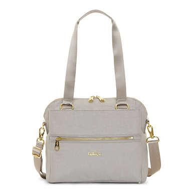 Catelyn Printed Handbag - Slate Grey Croc