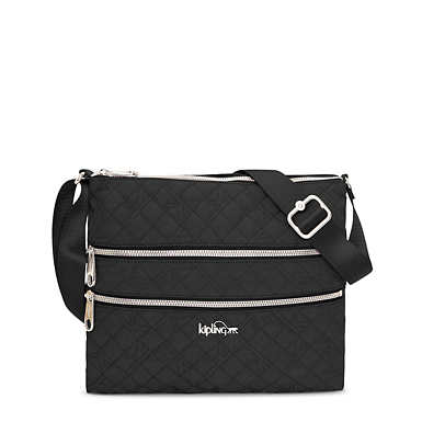 Alvar Quilted Handbag - Black