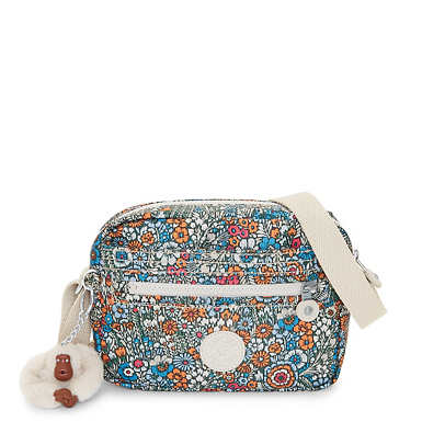 Aveline Printed Crossbody Bag - Loopy Flowers