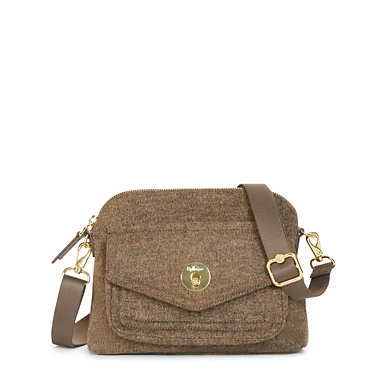 Cavanaugh Small Crossbody Bag - Cafe Latte Beige