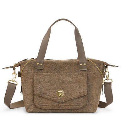 Art S Handbag - Cafe Latte Beige