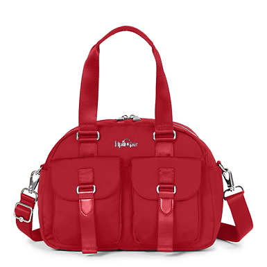 Defea Handbag - Candied Red