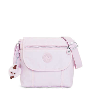 Brom Metallic Handbag - Whimsical Pink