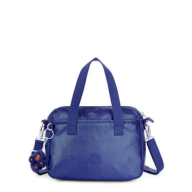 Emoli Metallic Handbag - Enchanted Purple Metallic