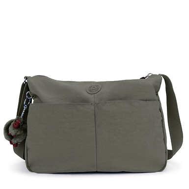 키플링 Kipling Rosita Crossbody Bag,Dusty Grey